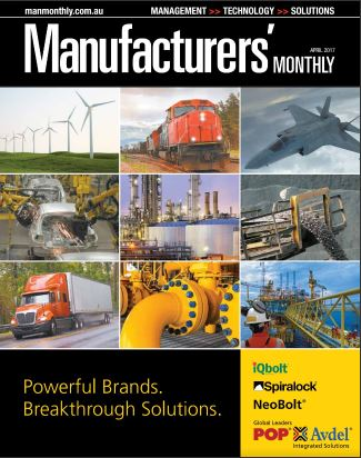 Manufacturer's Monthly Magazine Front Cover April 2017
